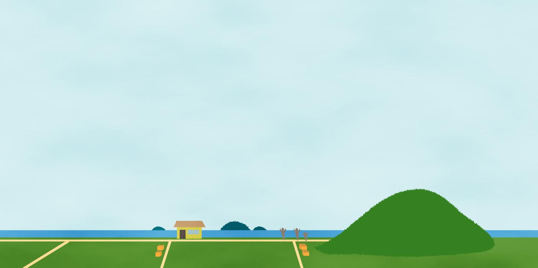 愛媛県堀江町の風景
